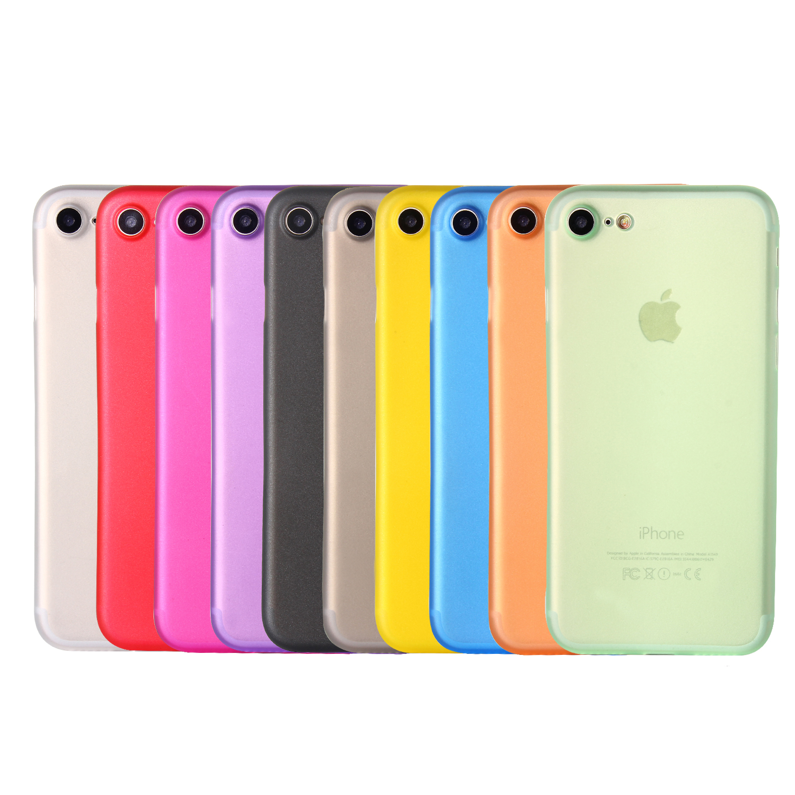 Lot de 10 coques iPhone 7